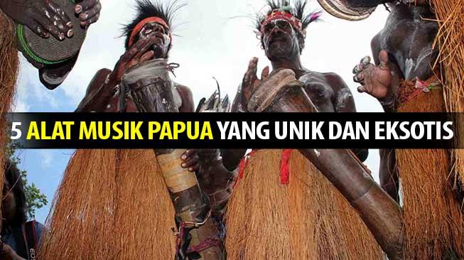 5 Alat Musik Papua Yang Unik dan Eksotis